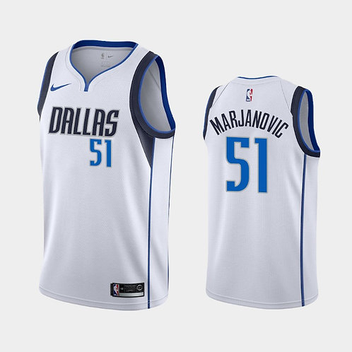 Dallas Mavericks Beyaz Forması