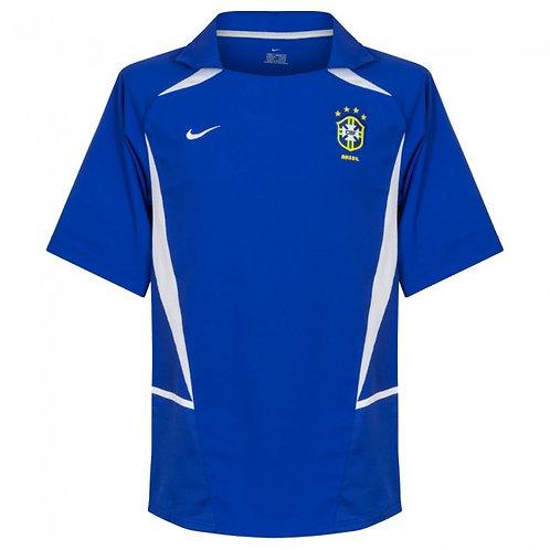 Brezilya 2002 Deplasman Forması
