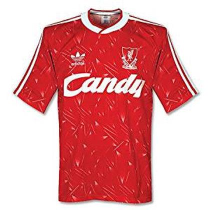 Liverpool 89/90 İç Saha Forması