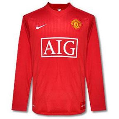 Manchester United 07/08 Uzun Kollu İç Saha Forması