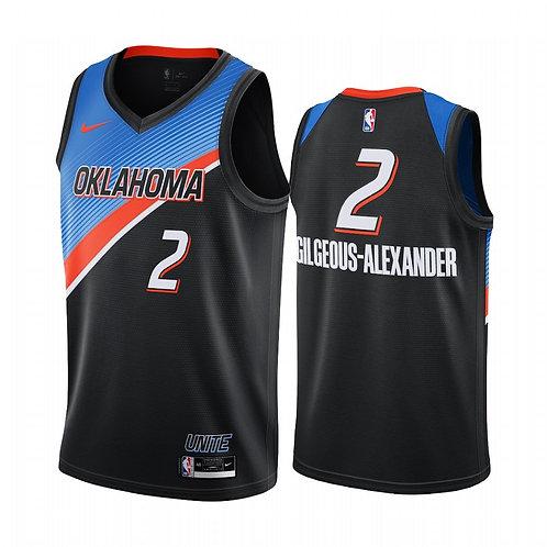 Oklahoma City Thunder 2021 City Edition Forması