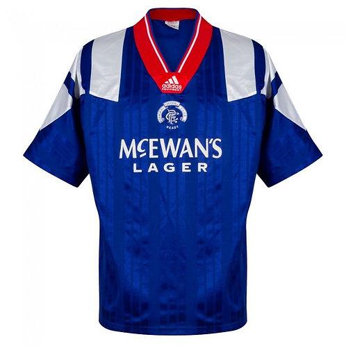 Rangers 92/93 İç Saha Forması