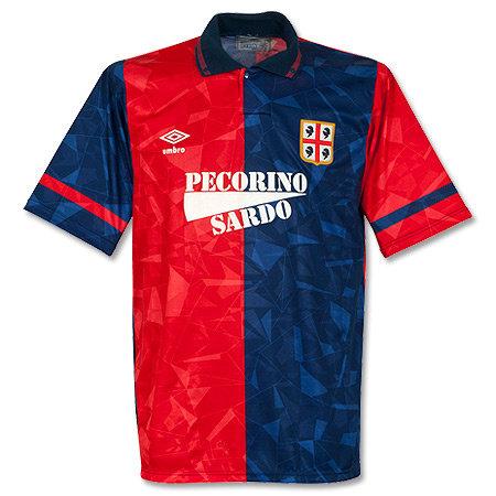 Cagliari 90/91 İç Saha Forması