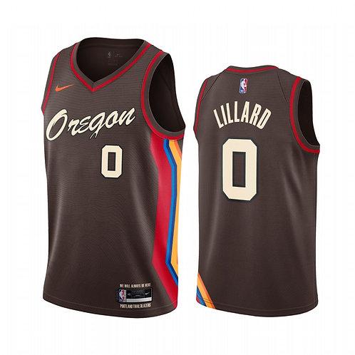 Portland Trail Blazers  2021 Chocolate City Edition Oregon Forması