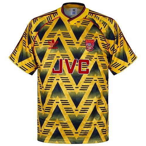 Arsenal 91/92 Deplasman Forması