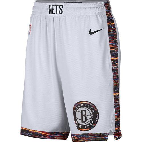 Brooklyn Nets Beyaz City Şort