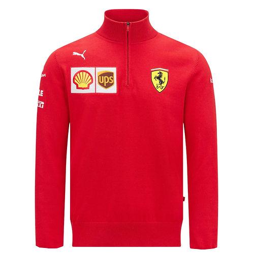Ferrari F1 Team 2021 Half Zip Hoodie