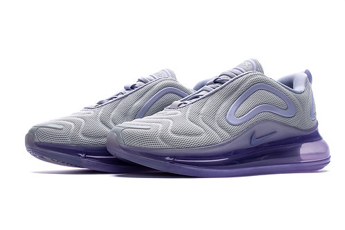 Air Max 720 Platinum Oxygen Purple