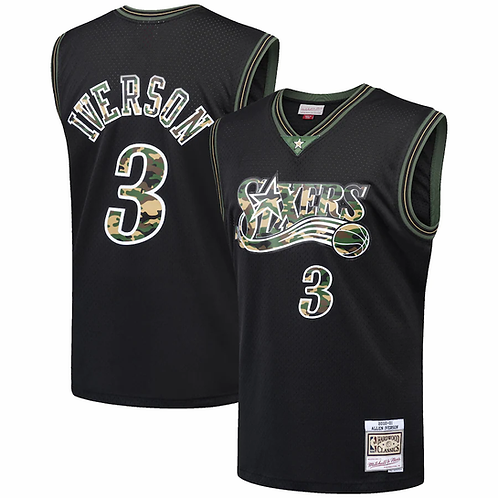 Allen Iverson x Philadelphia 76ers Camo Forması