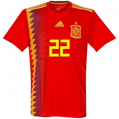 İspanya 2018 İç Saha Forması