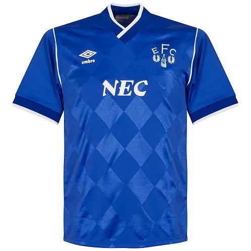 Everton 86/87 İç Saha Forması