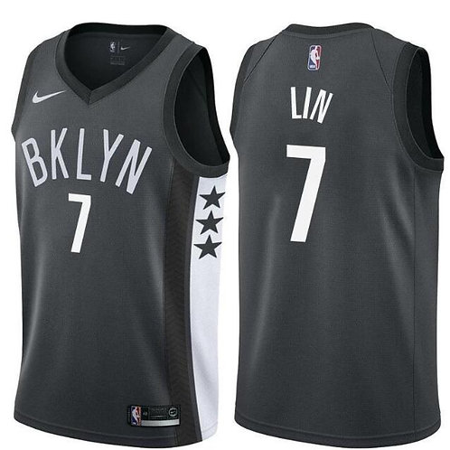 Brooklyn Nets Siyah Statement Forması