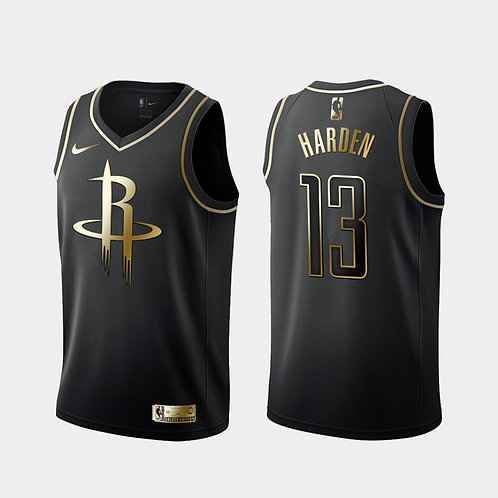 #13 Harden Rockets Golden Edition Forması
