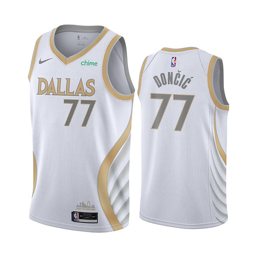Dallas Mavericks 2021 City Edition Gold Forması