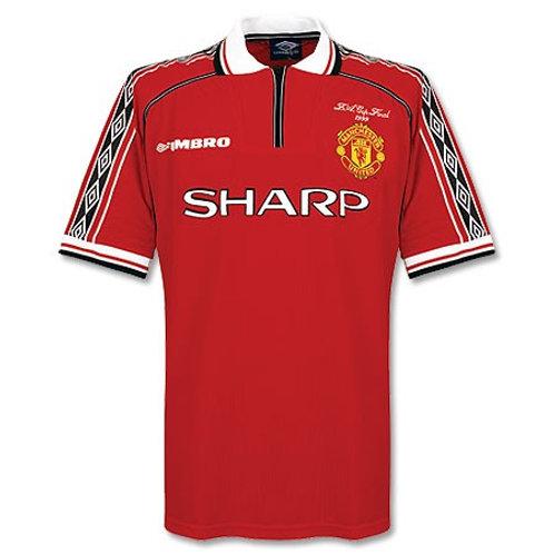 Manchester United 98/99 İç Saha Forması #7 BECKHAM