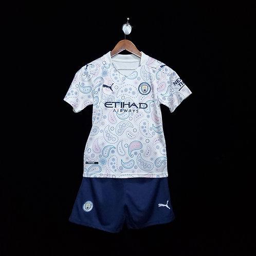 Manchester City 20/21 Çocuk Forması + Şort