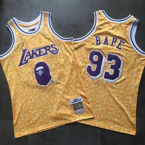 LA Lakers x BAPE Forması