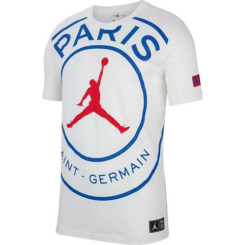 PSG x AJ 2020 Beyaz T-Shirt