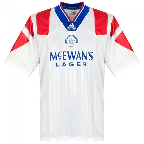 Rangers 92/93 Deplasman Forması