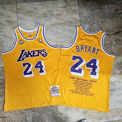 Kobe Bryant x LA Lakers Kariyer Forması #24