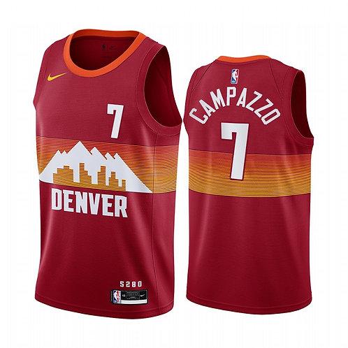 Denver Nuggers 2021 Orange City Edition Forması