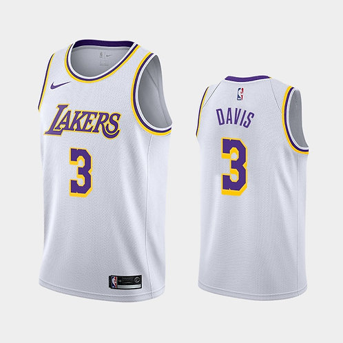 Los Angeles Lakers Beyaz Forma