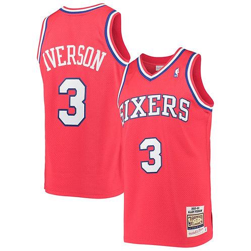 Allen Iverson x Philadelphia 76ers Forması