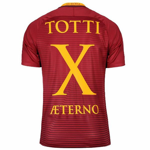 "Totti x Æterono ""Özel Üretim"" Roma Forması"