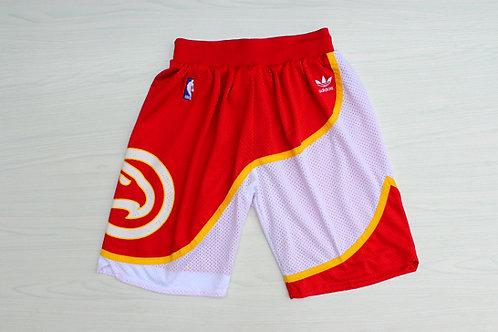 Atlanta Hawks Kırmızı Retro Şort