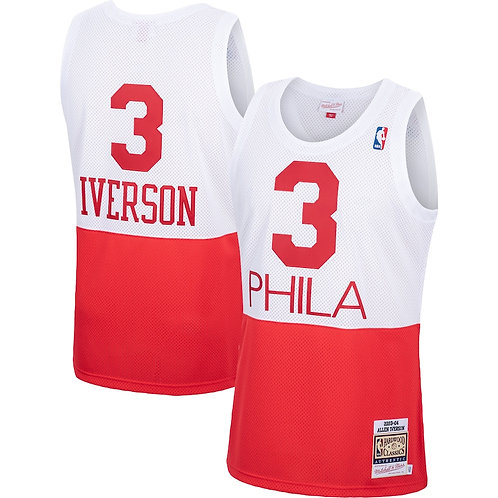 Allen Iverson x Philadelphia 76ers 2003 Forması