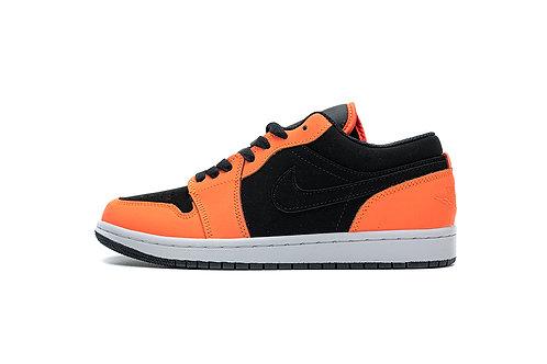 Air Jordan 1 Low Black Orange