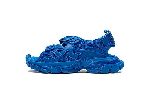 Balenciaga Track Sandal Blue