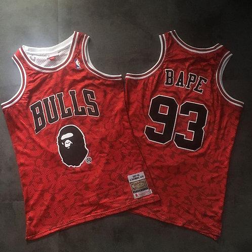 Chicago Bulls x BAPE Forması
