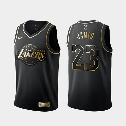 #23 James Lakers Golden Edition Forması