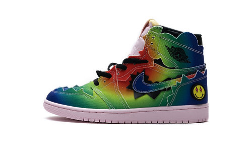Balvin x Air Jordan 1 High OG Colorful Tie-dye