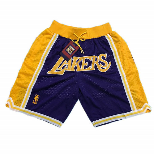 LA Lakers x Just Don