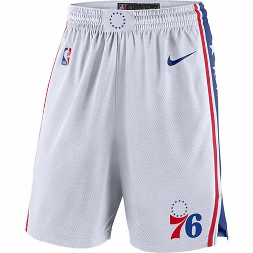 Philadelphia 76ers Beyaz Şort