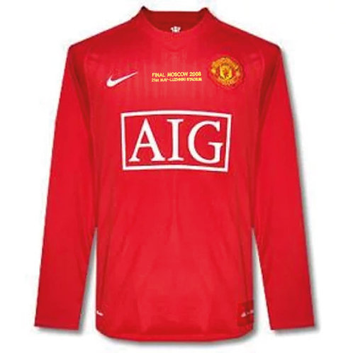 Manchester United 2008 Şampiyonlar Ligi Final Forması - #7 RONALDO