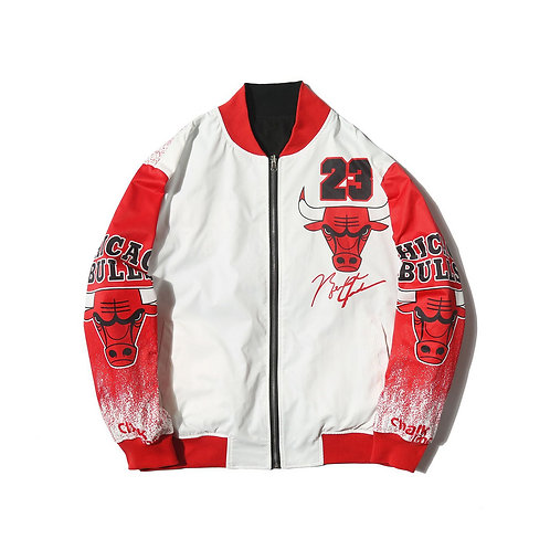 Chicago Bulls Çift Taraflı Mont