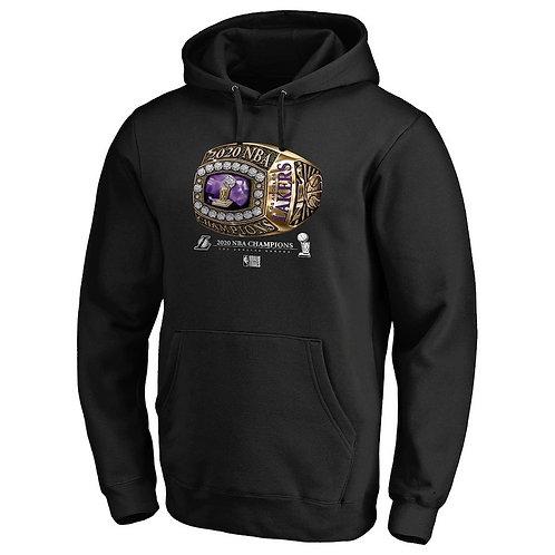 LA Lakers Siyah Final Hoodie
