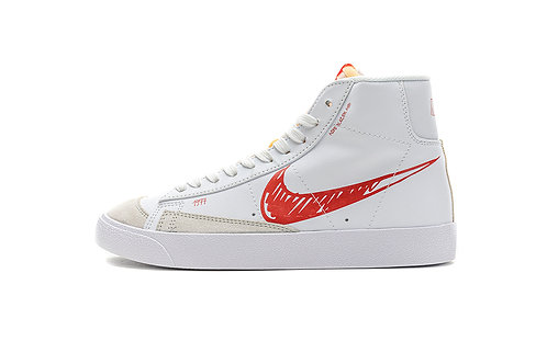 Blazer Mid '77 Scribble Red