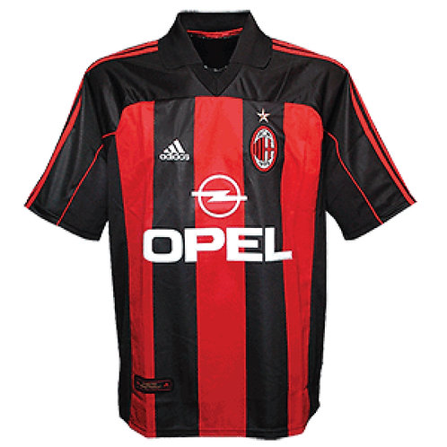 A.C. Milan 00/01 İç Saha Forması