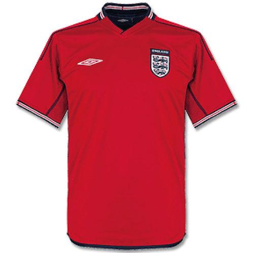 İngiltere 2002 Deplasman Forması