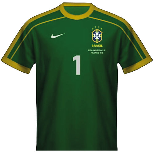 Brezilya 1998 Kaleci Forması