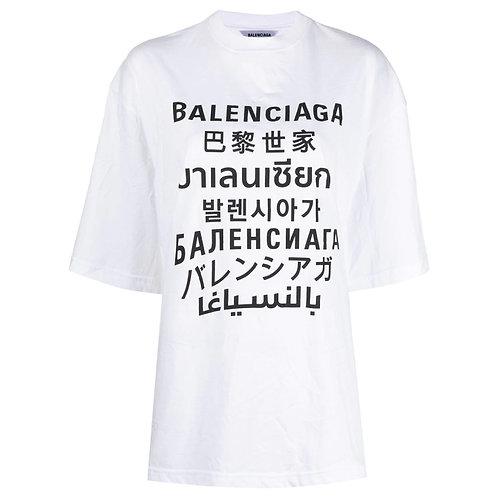 Balenciaga Language Tshirt