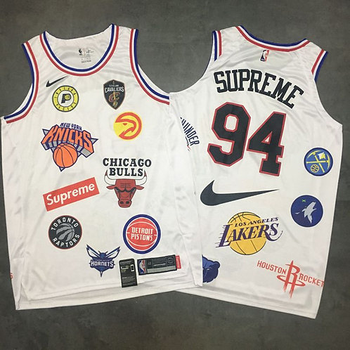 Supreme x NBA Forması