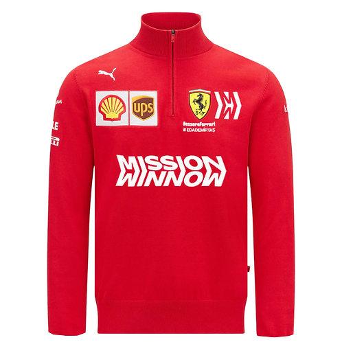 Ferrari F1 Team Half Zip Hoodie