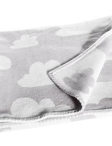 Farg & Form / שמיכת תינוק עבה אפורה עם עננים