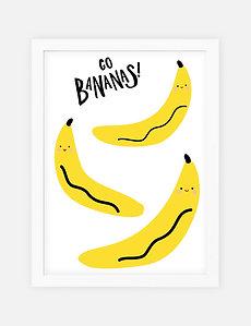 Noodoll /  פוסטר ״בננות משוגעות״
