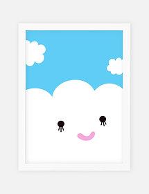 Noodoll /  פוסטר ״ענן מאושר״